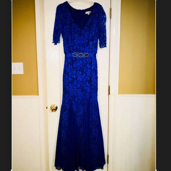 Patra Dresses | By Joanna Chen Lace Evening Gown | Poshmark